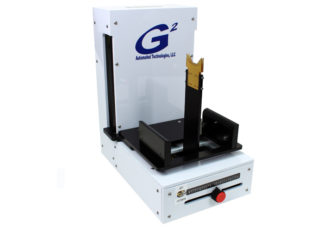 G2 Automatic Single Wafer Presenter shown with arm extended