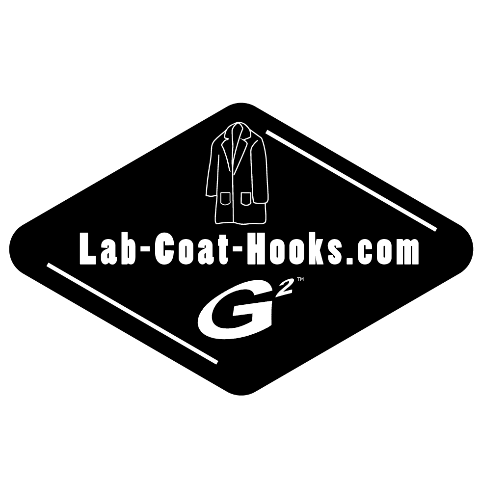 Lab-Coat-Hooks.com online purchasing site for G2 lab coat hooks and other products